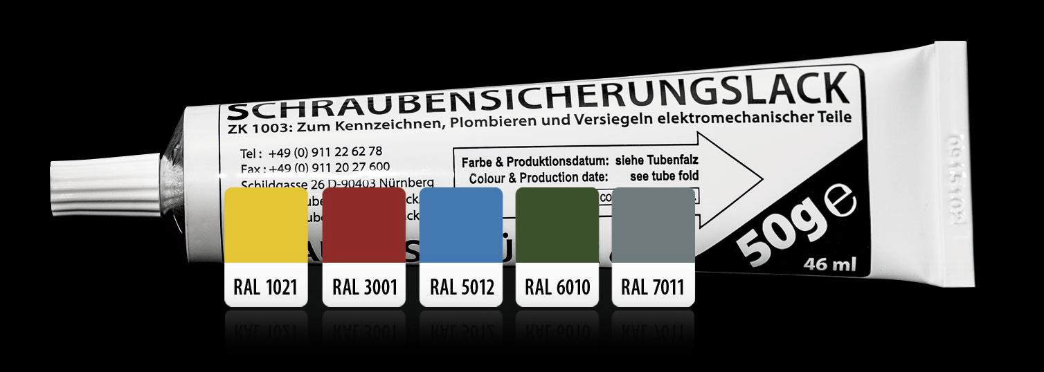 Bild von Schraubensicherungslack ZK 1003 50g von H. August Müller e.K.
