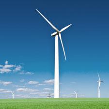 Ein Windkraftanlage H. August-mueller e.K. Schraubensicherungslack